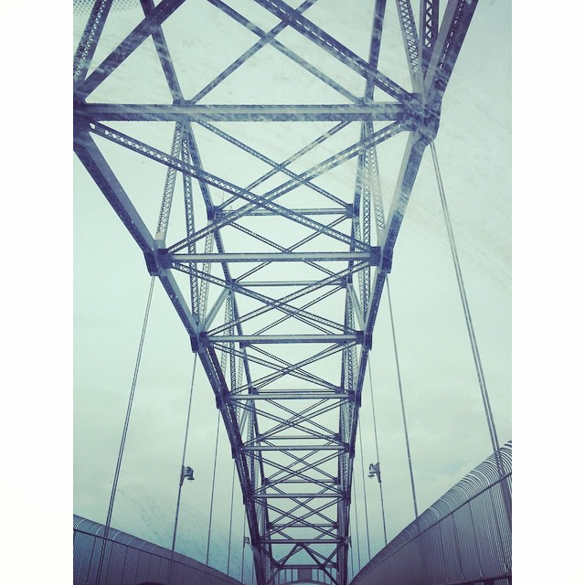 #bournebridge ... always the symbol that our capecation is over