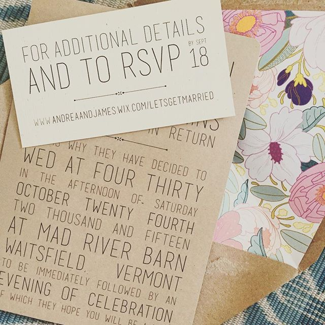 perfect & pretty invites for an amazing fall wedding!