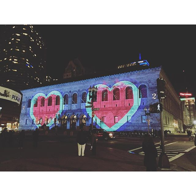 sharing the love #bostonpubliclibrary