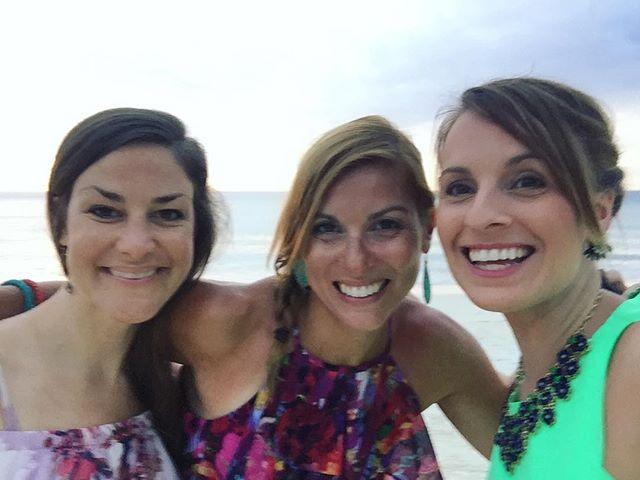 beach ladies! #FanninOurselvesInAntigua
