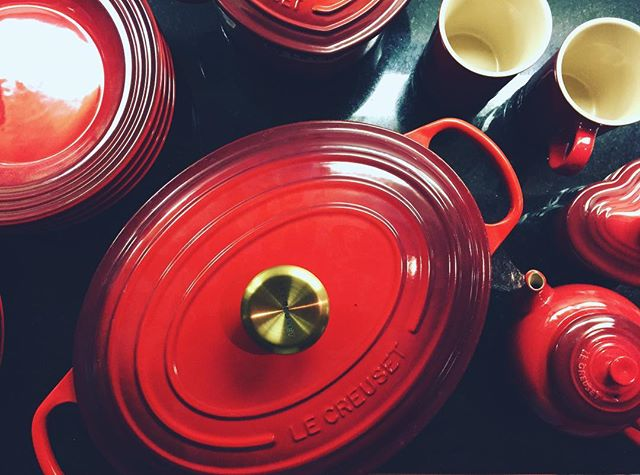 we were one of the lucky ones to take home a #mysterybox at this year's factory to table event. here are the surprises we took home! #lecreuset #lecreusetfactorytotable #win #luckyone