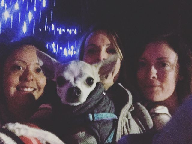 ladies night at the #festivaloflights