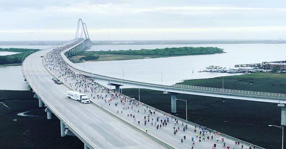 regram from @cooperriverbridgerun – such a beautiful race #chslove #10k #gotoverit