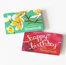 homegoods gift cards
