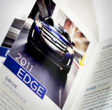 ford promotional handout
